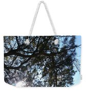 Sunshine Passes Pine  Weekender Tote Bag
