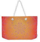 Sunshine Purple Mandala Weekender Tote Bag