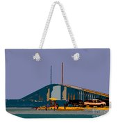 Sunshine Skyway Weekender Tote Bag