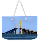 Sunshine Skyway Summer Weekender Tote Bag