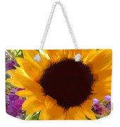 Sunshine Sunflower In The Garden Weekender Tote Bag