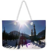 Sunstar Throws Long Shadows Weekender Tote Bag