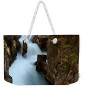 Sunwapta Falls In Jasper National Park Weekender Tote Bag