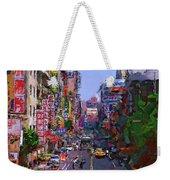 Super Colorful City Weekender Tote Bag