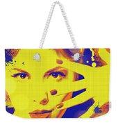 Super-girl. Weekender Tote Bag