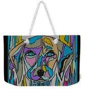 Super Hero - Contemporary Dog Art Weekender Tote Bag