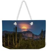 Super Moon 2018 - Wolf Moon  Weekender Tote Bag