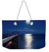 Super Moon At Juno Weekender Tote Bag