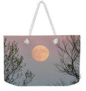 Super Moon At Twilight Weekender Tote Bag