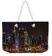 Super Moon Rising Weekender Tote Bag by Susan Candelario