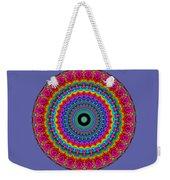 Super Rainbow Mandala Weekender Tote Bag