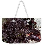 Super Small Grapes Weekender Tote Bag