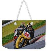 Superbikes Weekender Tote Bag