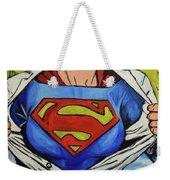 Supergirl Weekender Tote Bag