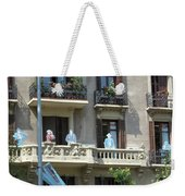 Superheroes On The Sant Joan Weekender Tote Bag