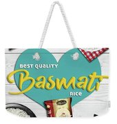 Superior Quality Basmati Rice Importers In New Zealand - Kashish Food Weekender Tote Bag