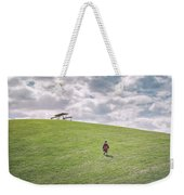 Superman And The Big Hill Weekender Tote Bag
