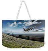 Supermarine Spitfire Fly Past Weekender Tote Bag