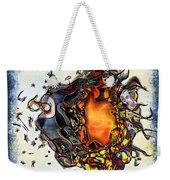 Supernova In Harlequin Weekender Tote Bag