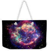 Supernova Remnant Cassiopeia A Weekender Tote Bag by Stocktrek Images
