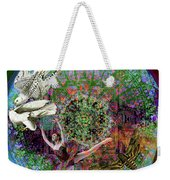 Superstar Electromagnetic Starchild Weekender Tote Bag by Joseph Mosley