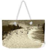 Superstar Skiing Weekender Tote Bag