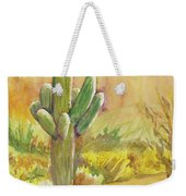 Superstition Saguaro Weekender Tote Bag