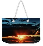 Superstition Sunrise Weekender Tote Bag