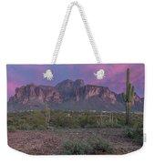 Superstition Sunset Weekender Tote Bag