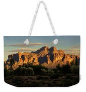 Superstitions At Sunset  Weekender Tote Bag