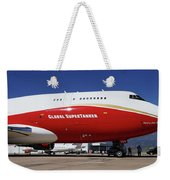 Supertanker At Colorado Springs Weekender Tote Bag