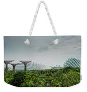 Supertrees At Gardens By The Bay Weekender Tote Bag