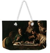 Supper At Emmaus Weekender Tote Bag
