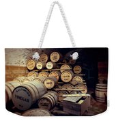 Supplies And Rations Weekender Tote Bag