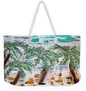 Surf And Palms Weekender Tote Bag