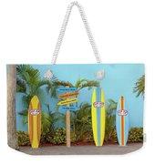 Surf Boards At Ron Jon's Weekender Tote Bag