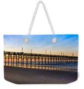 Surf City Fishing Pier Weekender Tote Bag