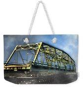 Surf City Nc Swing Bridge Weekender Tote Bag
