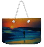 Surf Fishing Weekender Tote Bag