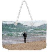 Surf Fishing Weekender Tote Bag