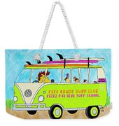 Surf School Weekender Tote Bag