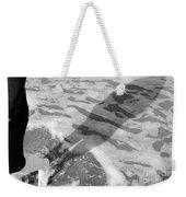 Surf Shadows Weekender Tote Bag
