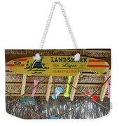 Surf This Tiki Hut Weekender Tote Bag