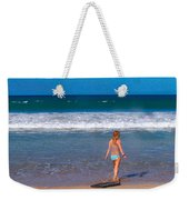 Surf Up Weekender Tote Bag