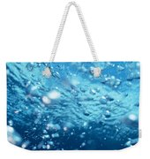 Surface Bubbles Weekender Tote Bag