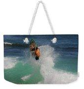 Surfer Action Hawaii Weekender Tote Bag