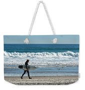 Surfer And His Board Weekender Tote Bag