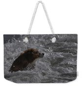 Surfer Dog 1 Weekender Tote Bag