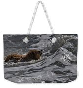 Surfer Dog 2 Weekender Tote Bag