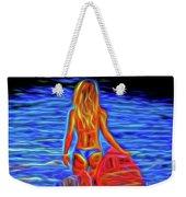 Surfer Girl 13218 Weekender Tote Bag